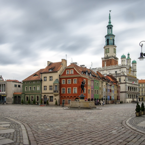 Poznan by Robert  Płóciennik - City,  Street & Park  Historic Districts ( old, poznan, historic, city, poland )