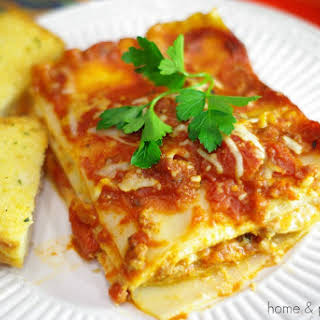 Meat Lover's Lasagna.