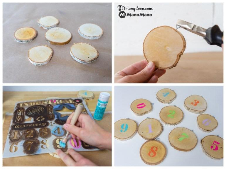 create a Montessori numbers toy