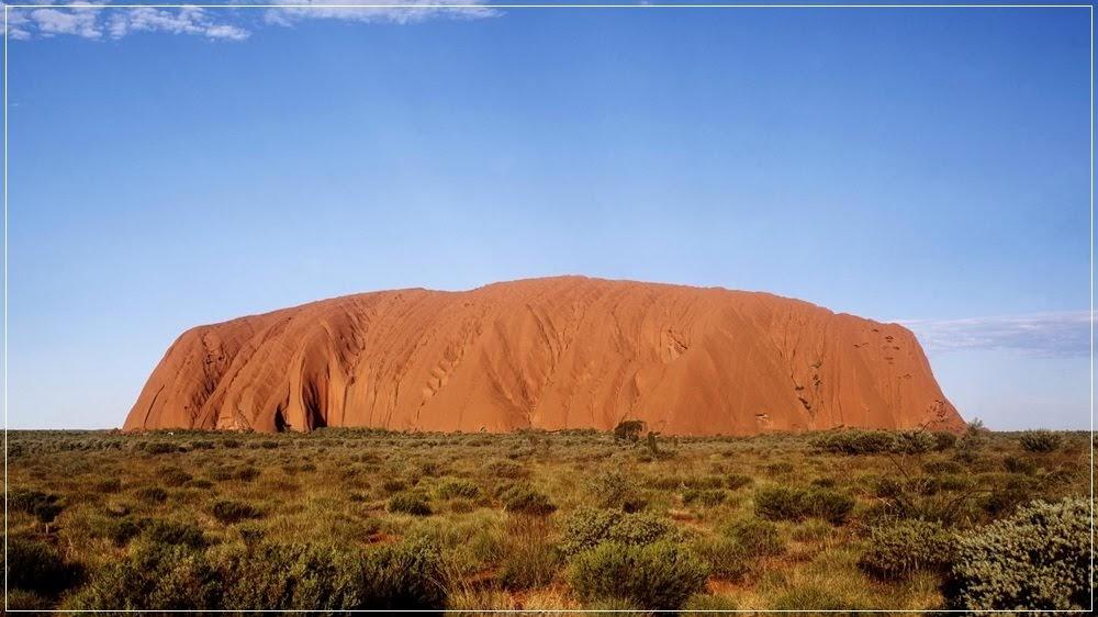 Uluru, a segunda maior pedra do mundo