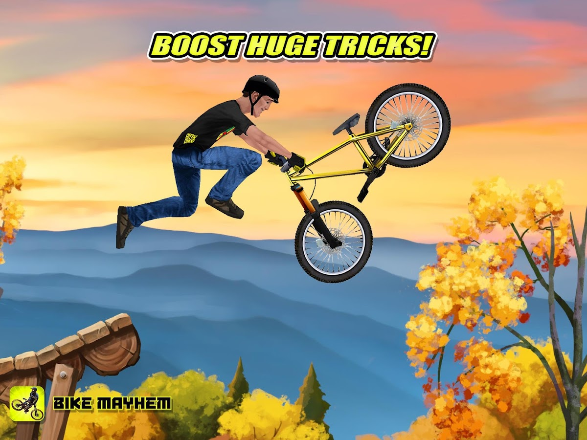 Bike Mayhem Mountain Racing- screenshot