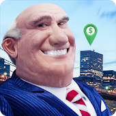 Landlord Tycoon - Money Investing Idle with GPS Icon