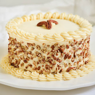 Italian Cream Cake with Cream Cheese Frosting.
