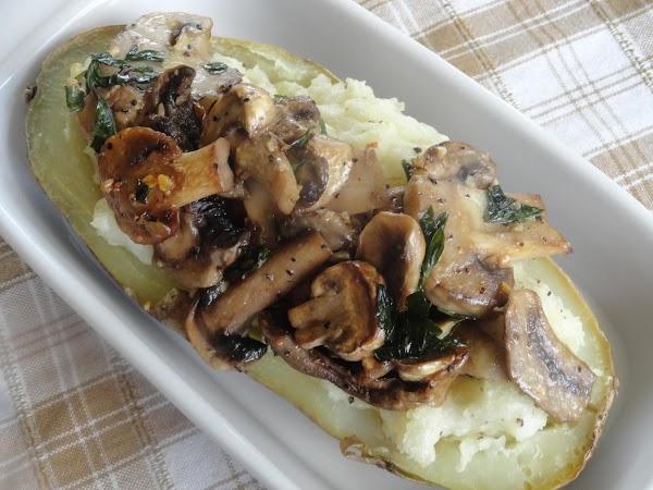 Lea's Mushroom Potatoes Recipe