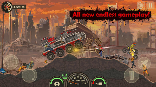 Earn to Die 3 APK MOD screenshots 2
