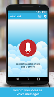 Voice2Mail – Voice Recorder- screenshot thumbnail