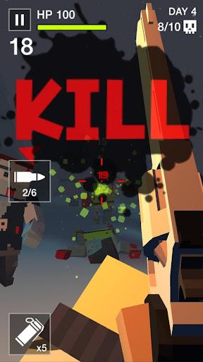 Cube Killer Zombie - FPS Survival 1.1.7 screenshots 2