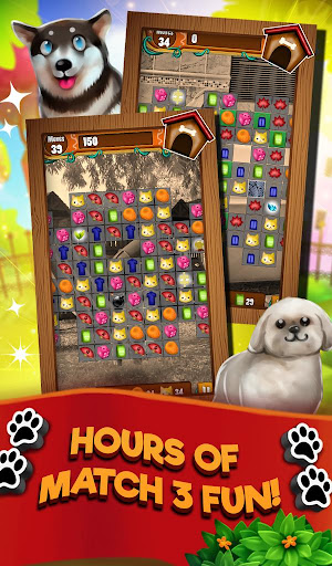 Match 3 Puppy Land - Matching Puzzle Game apkmr screenshots 13