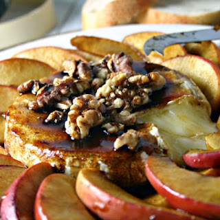 Molasses & Apples Baked Brie.