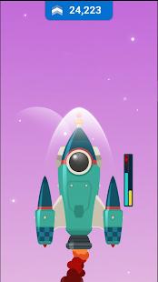 Idle Rocket Sky : Tap Tap Jump