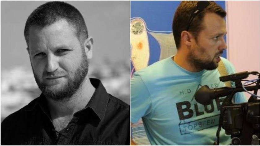 David Beriáin y Roberto Fraile, los dos periodistas españoles asesinados.
