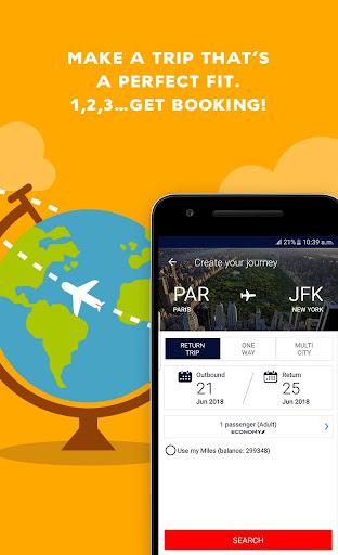 Air France - Airline tickets screenshot 1
