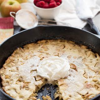 Baked Apple Pancake {Grain Free, Gluten Free} Recipe