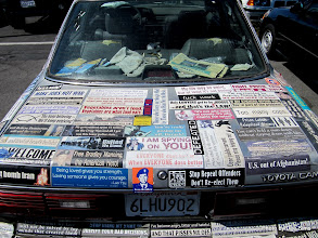 Photo: (Year 3) Day 27 -  Car With Lots of Messages