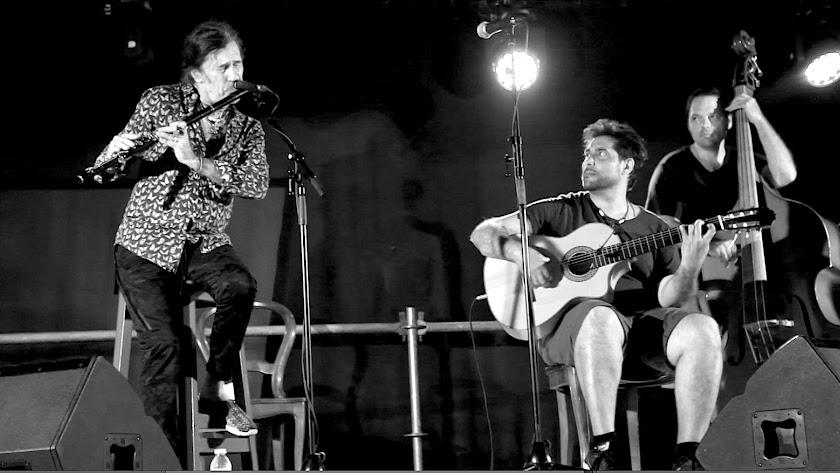 Jorge Pardo y Niño Josele, lección de música en Rodalquilar en el festival 340. (Foto: Estela García)