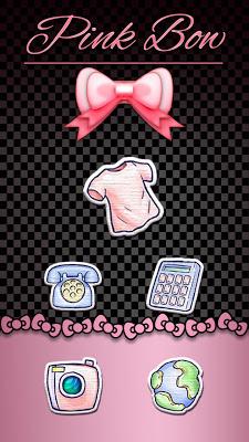 Pink Bow Kitty Theme - screenshot