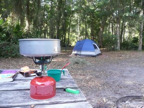 Cuisiner en camping