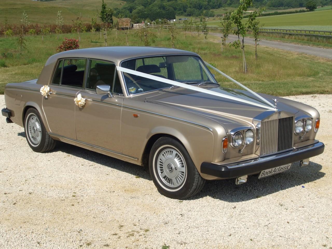 Rolls Royce Silver Shadow II Hire Worthing