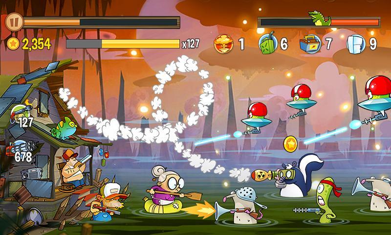 Swamp Attack Screenshot 2