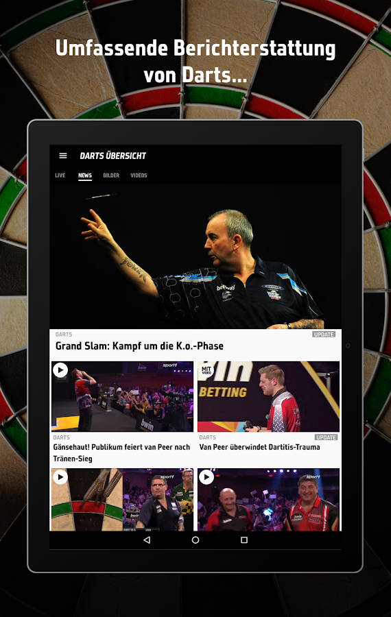 Sport1 darts tickets