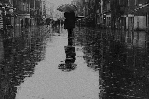 walking in the rain di samsara