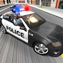 Police Car Racer 3D icon