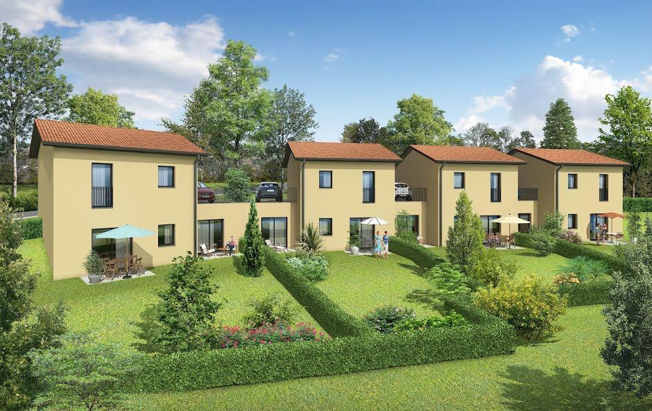 Vente maison 4 pièces 70 m² à Saint-Pierre-la-Palud (69210), 302 000 €