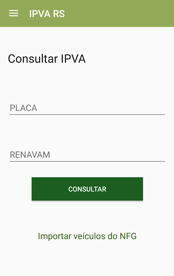 IPVA RS- screenshot