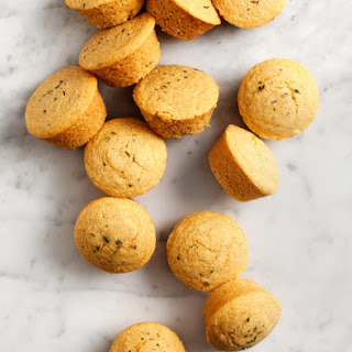 Rosemary Maple Corn Muffins Recipe
