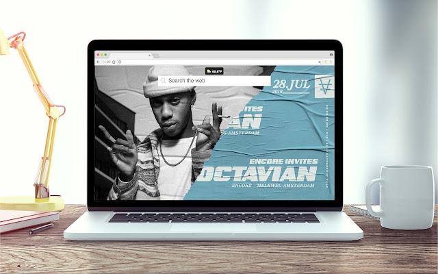 Octavian New Tab Theme