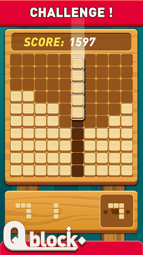 Wood Block Puzzle - Free Classic Block Puzzle Game fond d'écran 2