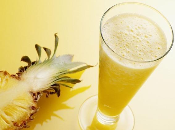 For a healthier version, use vanilla greek yogurt and unsweetened pineapple juice.