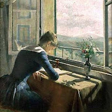 "Photo: Aase Norregaard, ""Donna che legge alla finestra aperta"" (1889)"