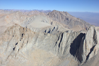 Photo: From the Mount Whitney summit, north