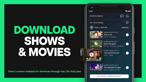 Hulu: Stream TV shows & watch the latest movies screenshot 4