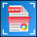 Fast Doc Scanner Pro ; PDF Creator, Scan QR Codes icon