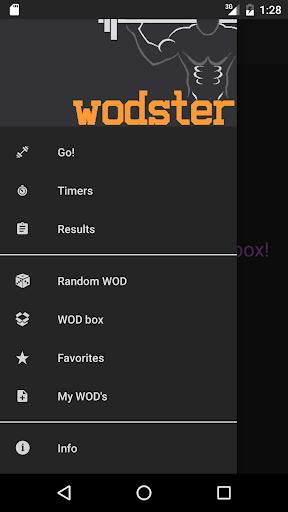 WODster - crossfit workouts! screenshot 1