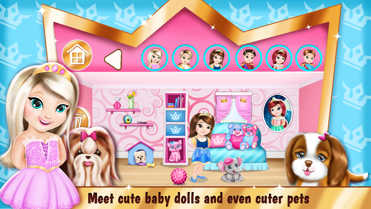 princess room decoration games - android apps on google play