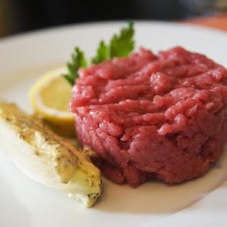 Italian Chopped Raw Beef Dish (Carne Cruda)