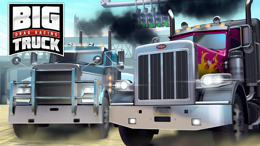 Big Truck Drag Racing screenshot 1