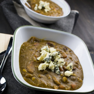 Spicy Slow Cooker Split Pea Soup