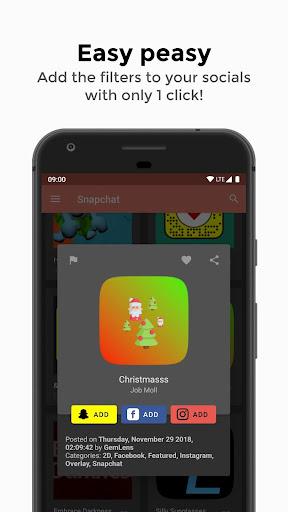 GemLens - Filters and Lenses for Social Media 4.0 screenshots 4