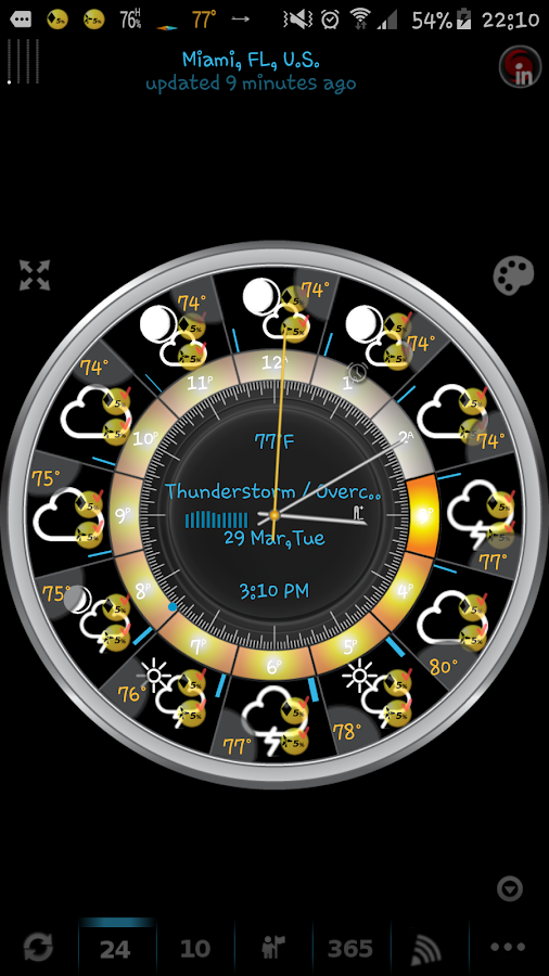 eWeather HD, Radar, Alerts- screenshot