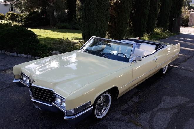1969 Cadillac Deville Convertible Hire CA