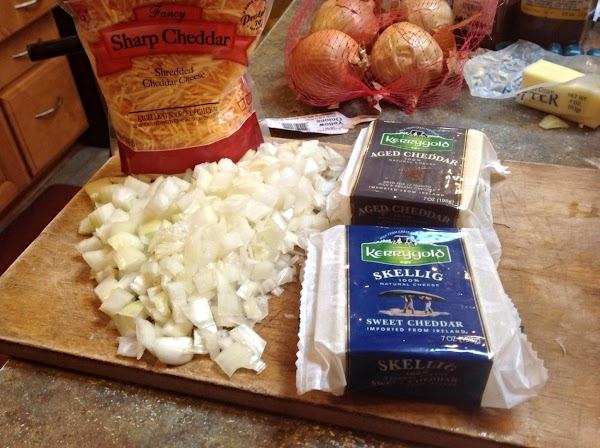 These are the cheeses that I chose to use in this dish, but you...