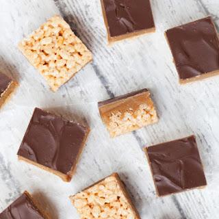 Millionaire's Caramel Krispie Squares