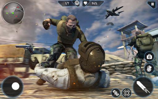 Télécharger Gratuit Modern FPS Combat Mission - Free Action Games 2020 mod apk screenshots 1