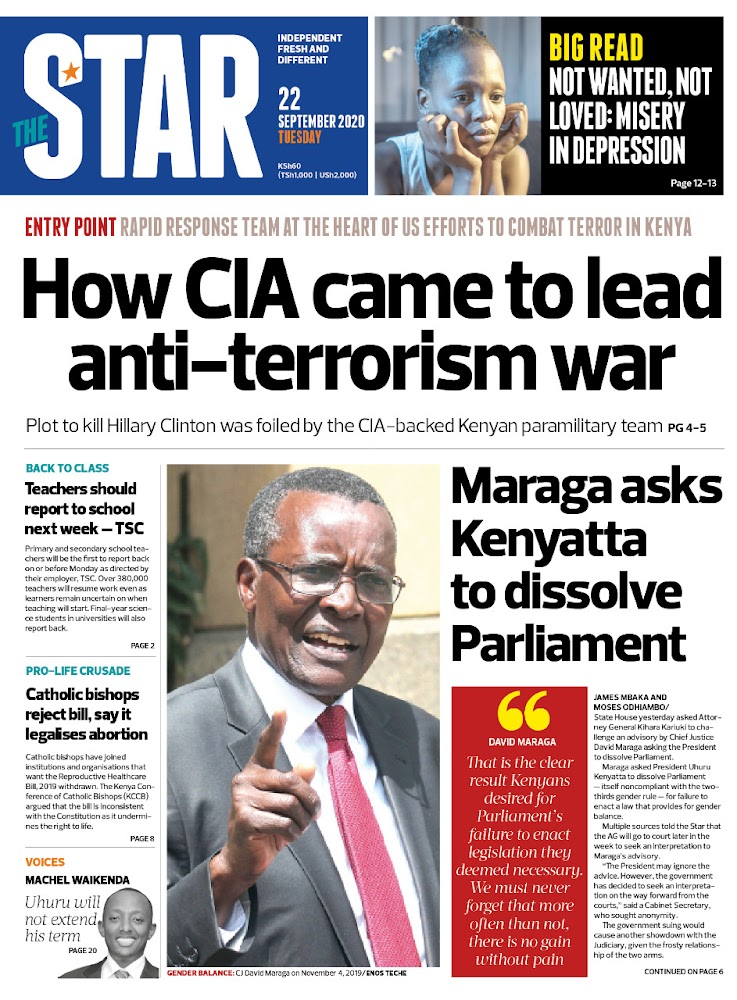 The News Brief: Why the CIA set up a secret counter-terror team in Kenya