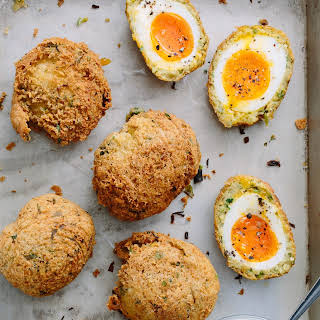 Falafel Scotch Eggs.