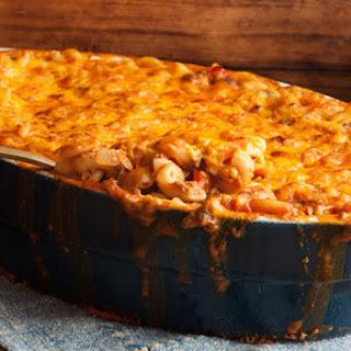 Beefy Macaroni Casserole.